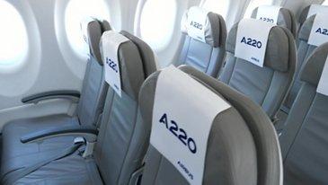 A220-300 cabin visit