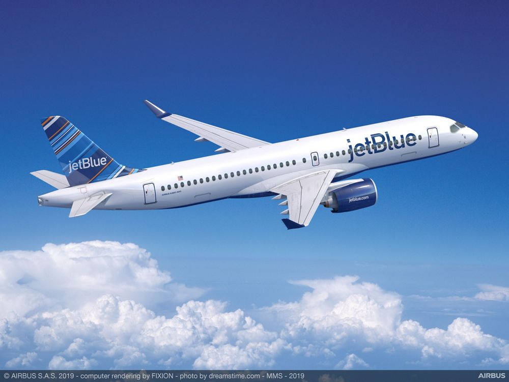 JetBlue will be the second airline customer to receive U.S.-built A220s from Airbus