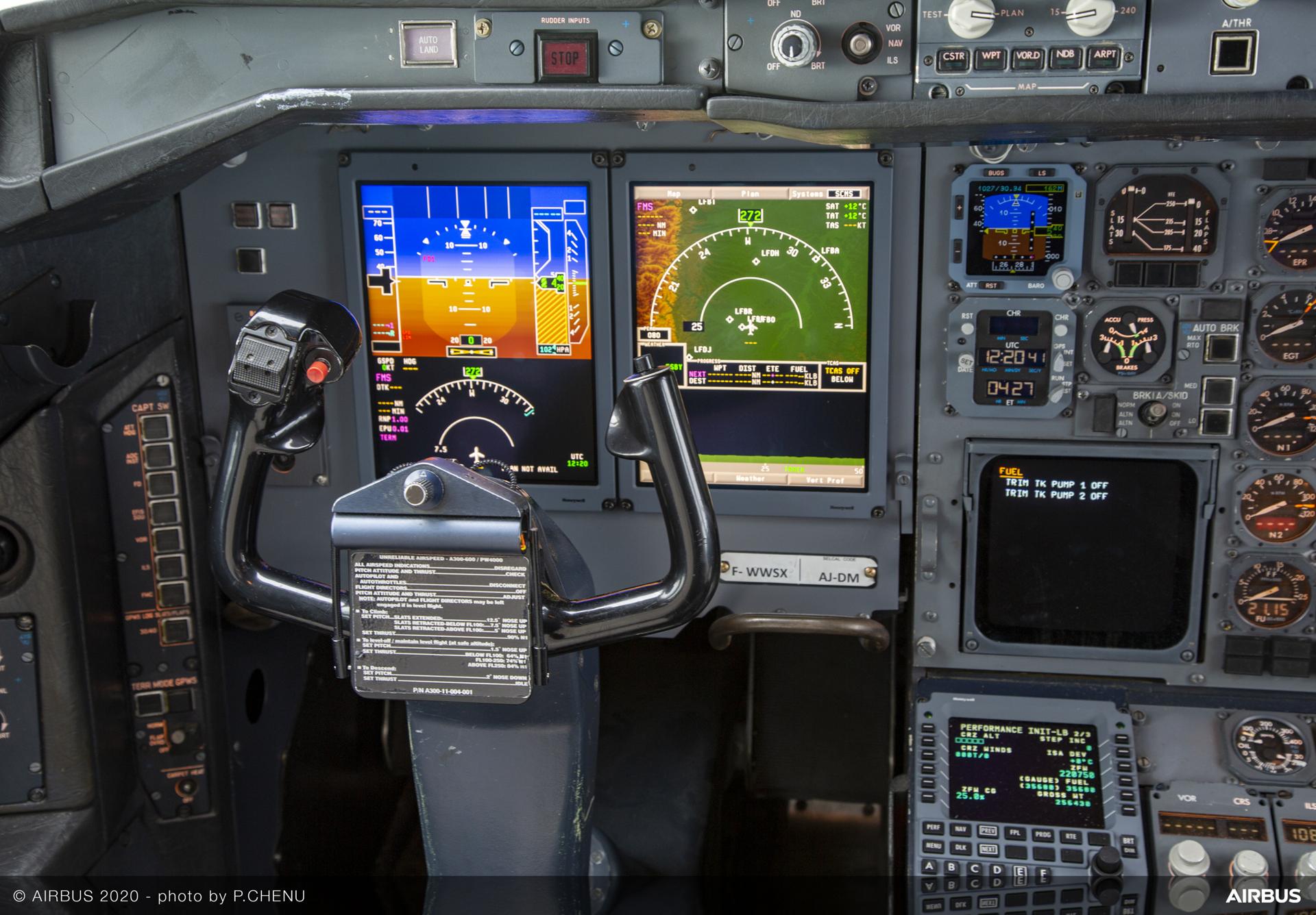 UPS A300 600F Cockpit Upgrade
