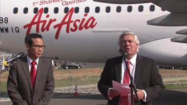 ILA Berlin 2012 - AirAsia will be the first airline to operate an A320 with Sharklets