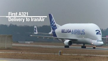 Airbus A321 IranAir In-the-Making
