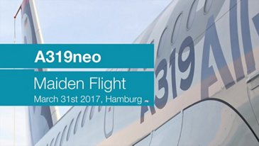 AG真人计划' A319neo takes to the skies