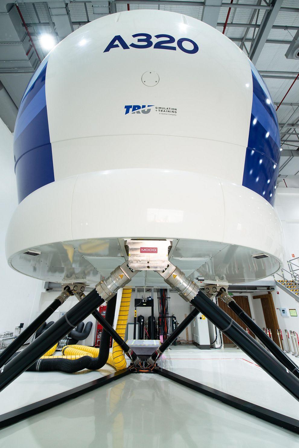 A320 Simulator At Airbus India Training Centre