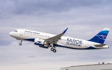 Atlantic Airways鈥� first A320neo