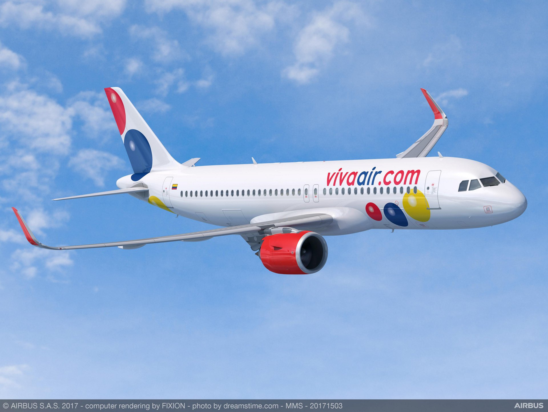 Viva Air, the Latin America low cost carrier group owned by Irelandia Aviation, signed a Memorandum of Understanding (MoU) with Airbus for 50 A320 Family aircraft, comprising 35 A320neo and 15 A320ceo.