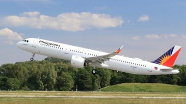 A321neo Philippines Airlines Take Off