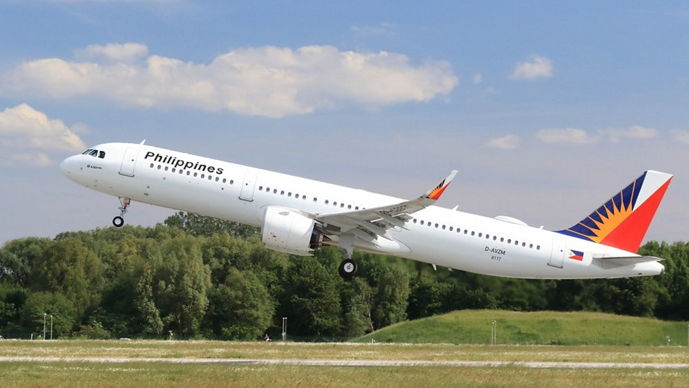 A321neo Filipinas Airlines despegar