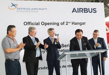 Sepang Aircraft Engineering Ceremony