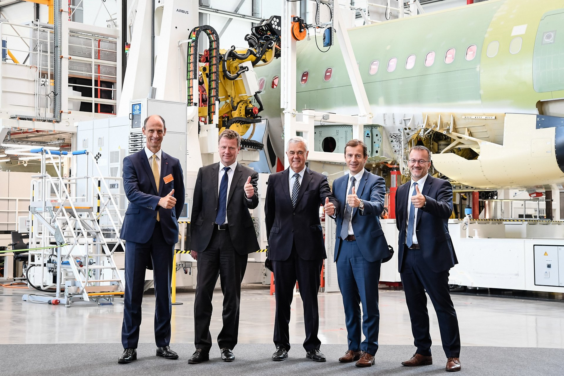 Hamburg production line inauguration VIP 1