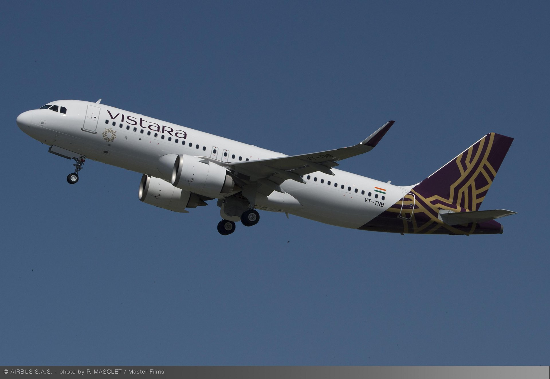 Vistara selected Airbus' FHS-TSP solution in September 2019 to maintain the operator's A320 fleet