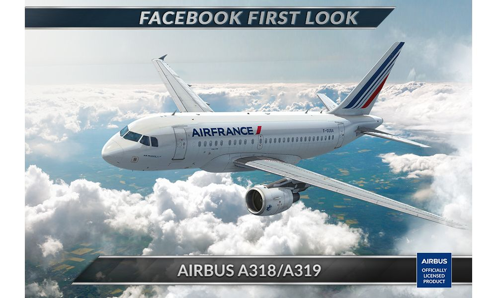 Airbus officially licensed product_A318/A319
