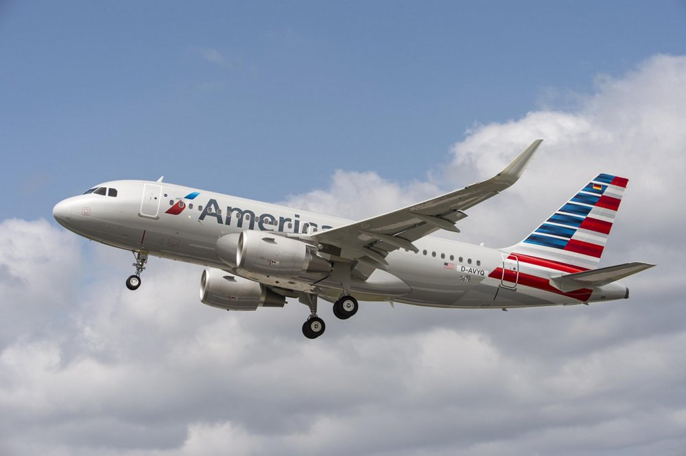 American Airlines received its initial A320, which is equipped with Airbus' fuel-saving Sharklets, in July 2013