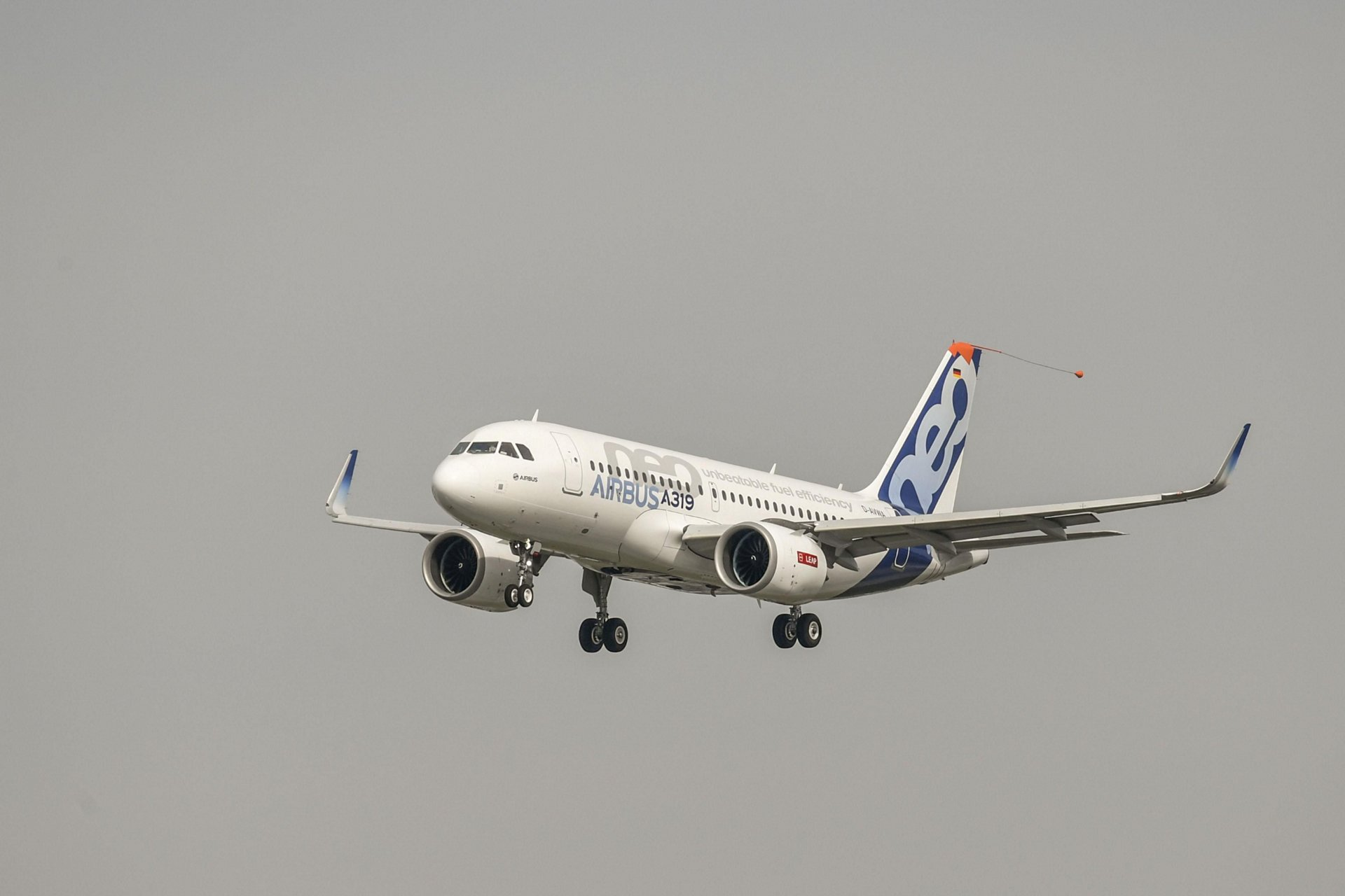 The A319neo powered by CFM International LEAP-1A engines received joint Type Certification from the US FAA and European EASA airworthiness authorities in December 2018