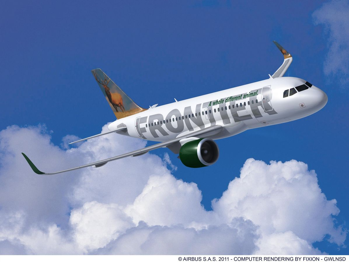 A319neo Frontier Airlines
