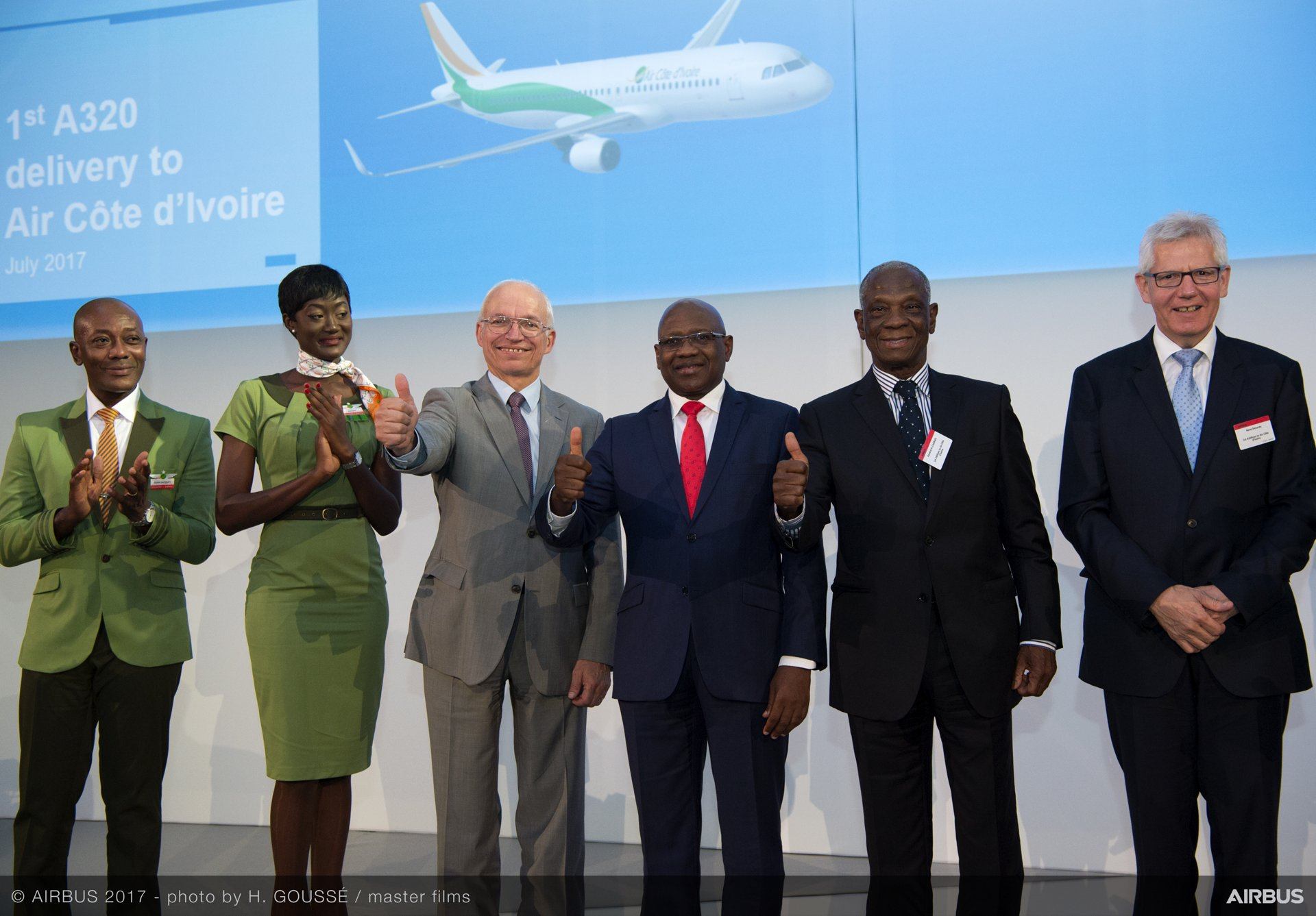 1st A320 Delivery To Air Cote D Ivoire 085