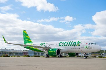 50th A320neo Citilink