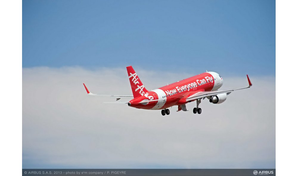 The 8,000th aircraft delivered by Airbus was an A320 received by AirAsia in 2013.