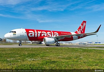 A320 AIRASIA INDIA ON GROUND