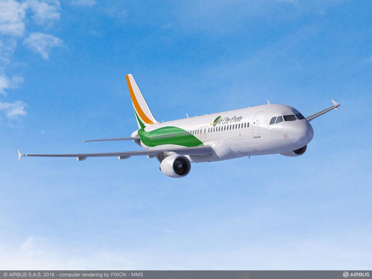A320_Air Côte D'Ivoire