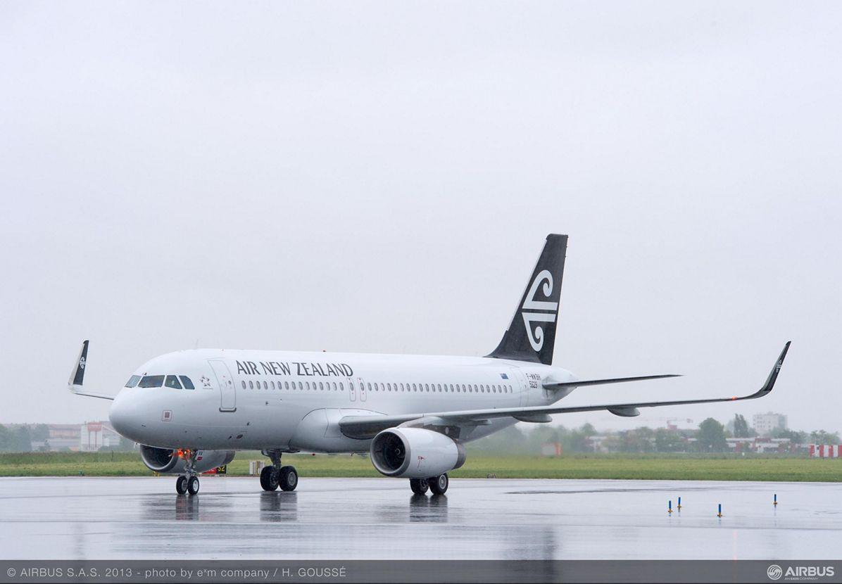 Paris Air Show – Air New Zealand A320 1