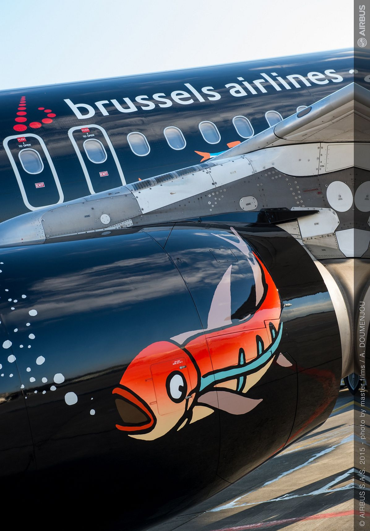 A320 Brussels Airlines Tintin at Blagnac