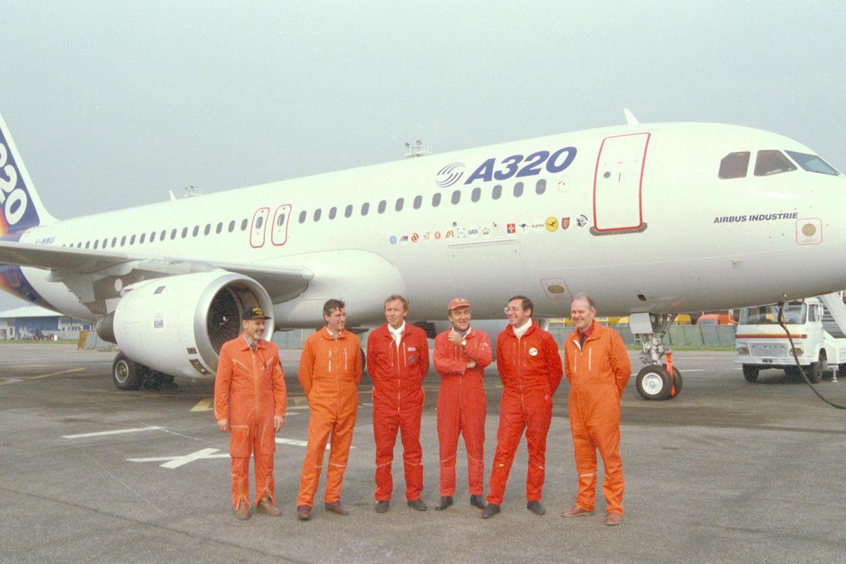 A320_First flight 2