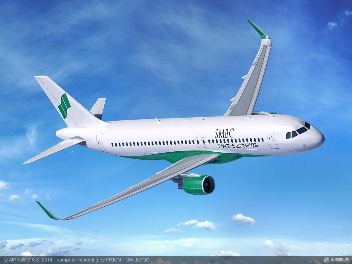 SMBC Aviation Capital orders 115 A320 Family aircraft