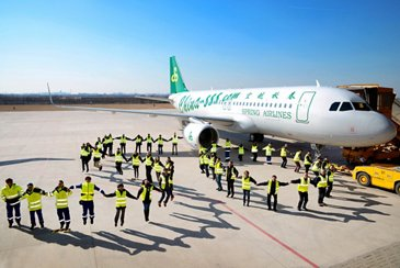 Spring Airlines' 50th A320_1