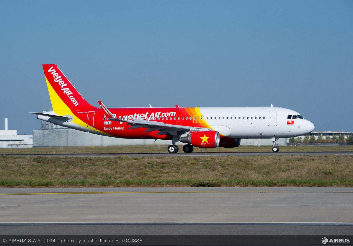 VietJet Air – First A320 ordered from Airbus 1