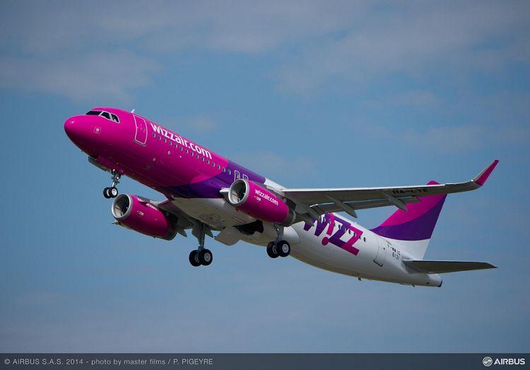 Wizz Air 50th A320