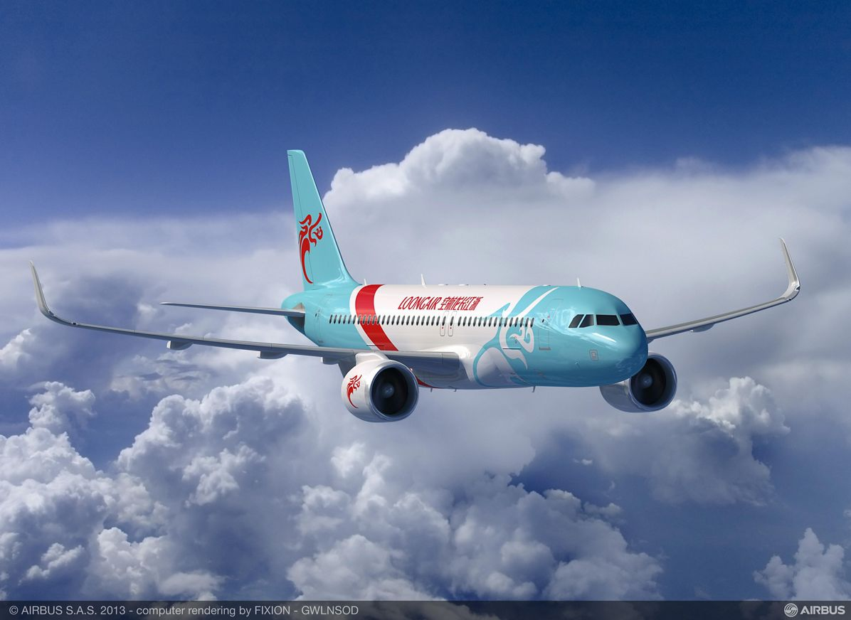 Zhejiang Loong Airlines signature A320 04