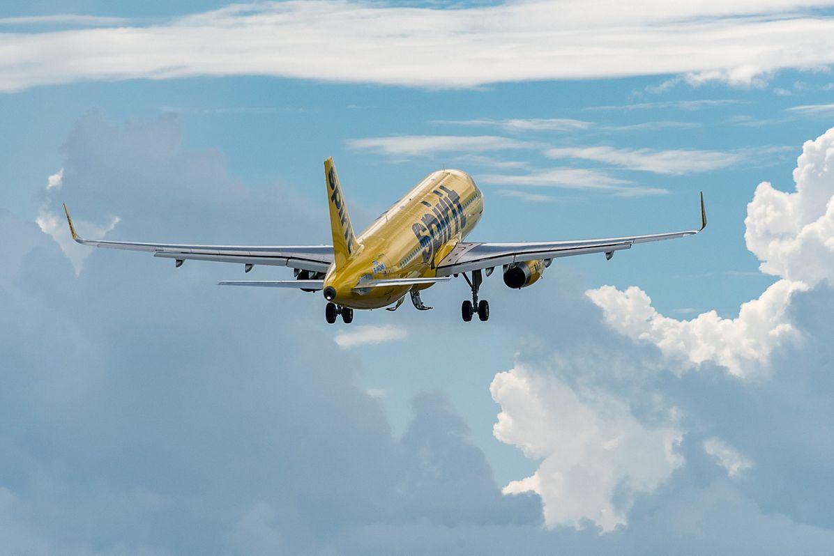 AIRBUS183- 1st A320 Spirit Flight