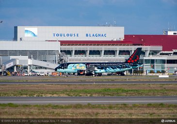 Brussels Airlines A320 Tintin livery 4