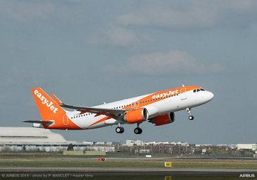 easyJet鈥檚 first FANS-C-equipped A320