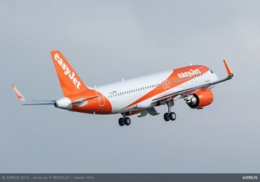 easyJet's Airbus A320 with FANS-C