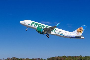The A320neo Frontier Airlines