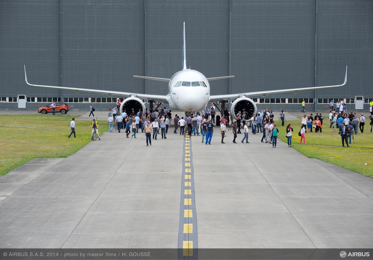 First A320neo rollout 2