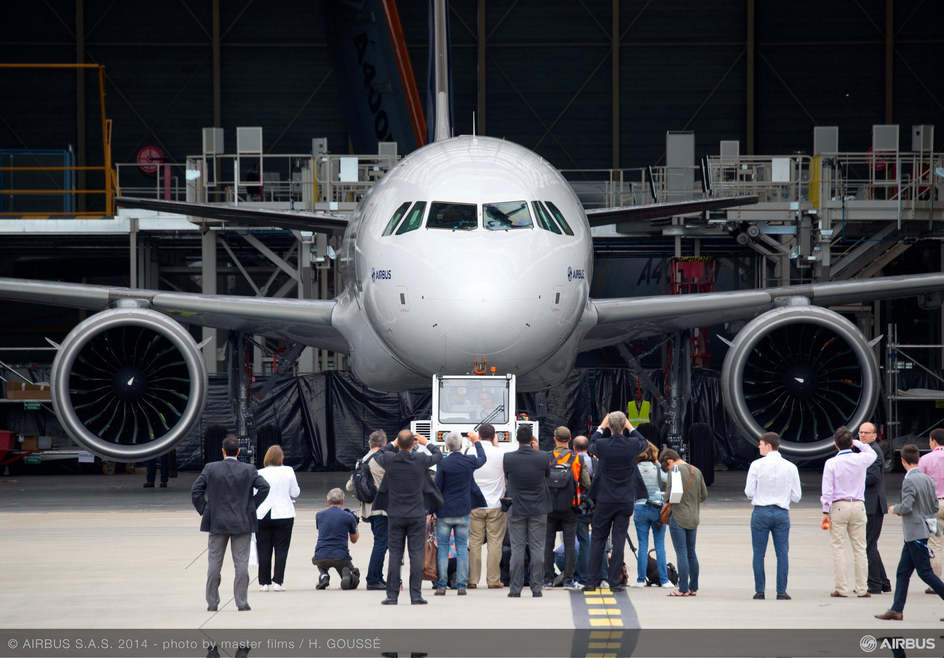 First A320neo rollout 4