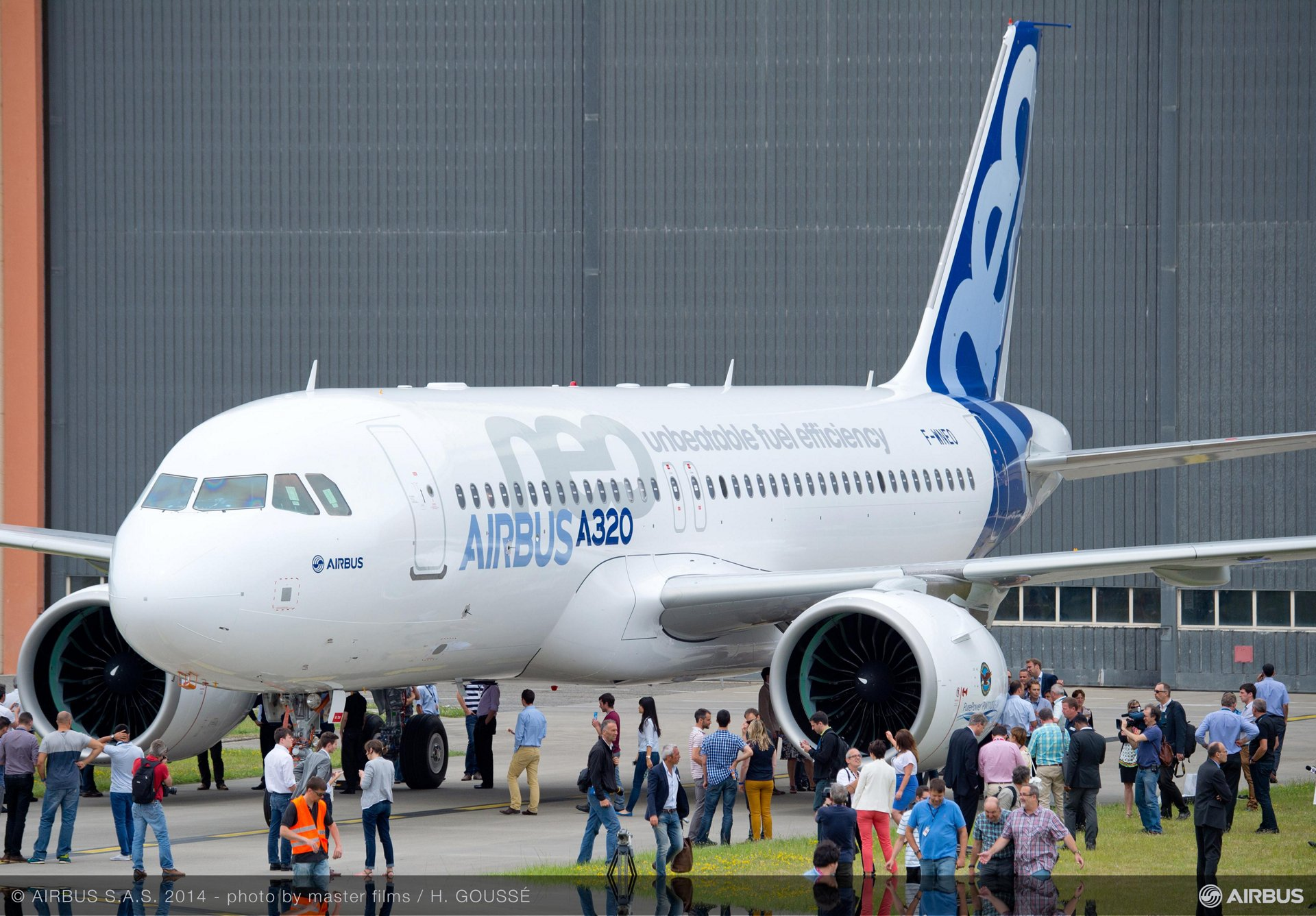 First A320neo rollout 5
