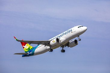 Air Seychelles' first A320neo