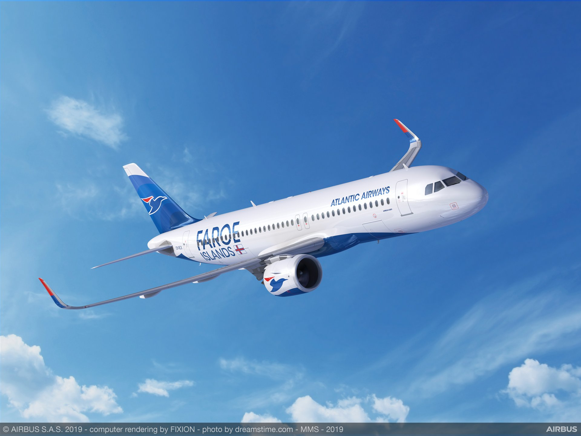Faroe Islands flag carrier Atlantic Airways became an A320neo customer with its purchase agreement signed for two aircraft