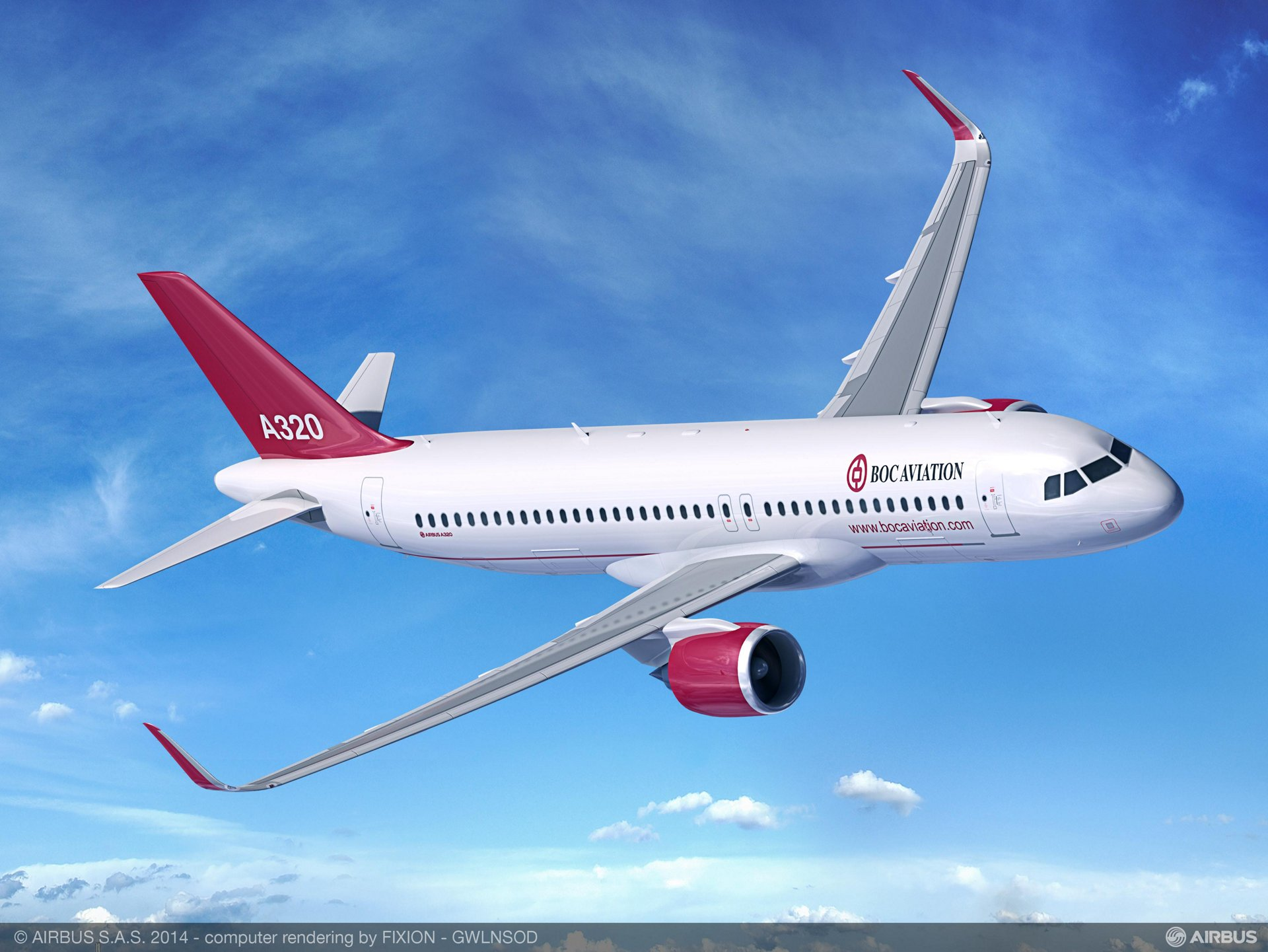 Of the 20 A320neo aircraft covered in BOC Aviation Limited's new firm order, 12 will be leased to Colombia's Avianca Airlines
