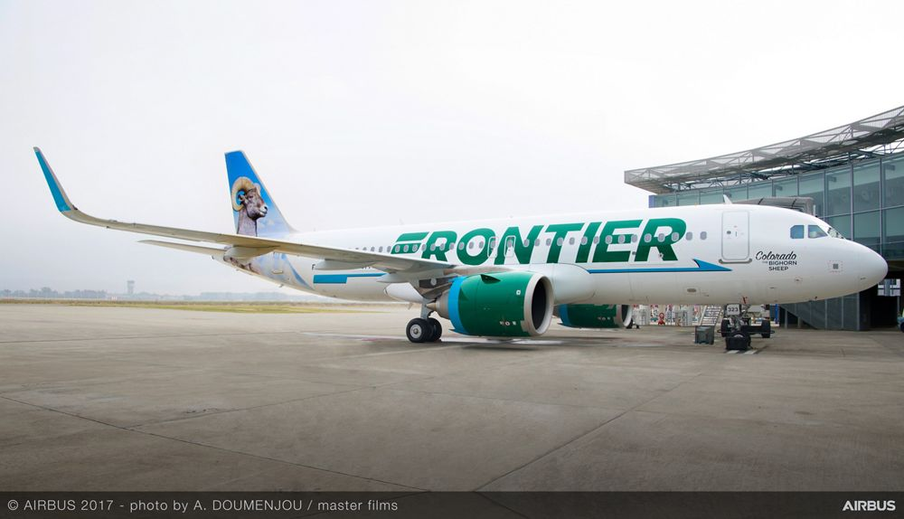 A320neo CALC Frontier Delivery