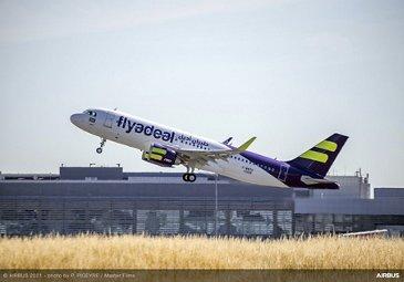 A320NEO Flyadeal MSN10255起飞008