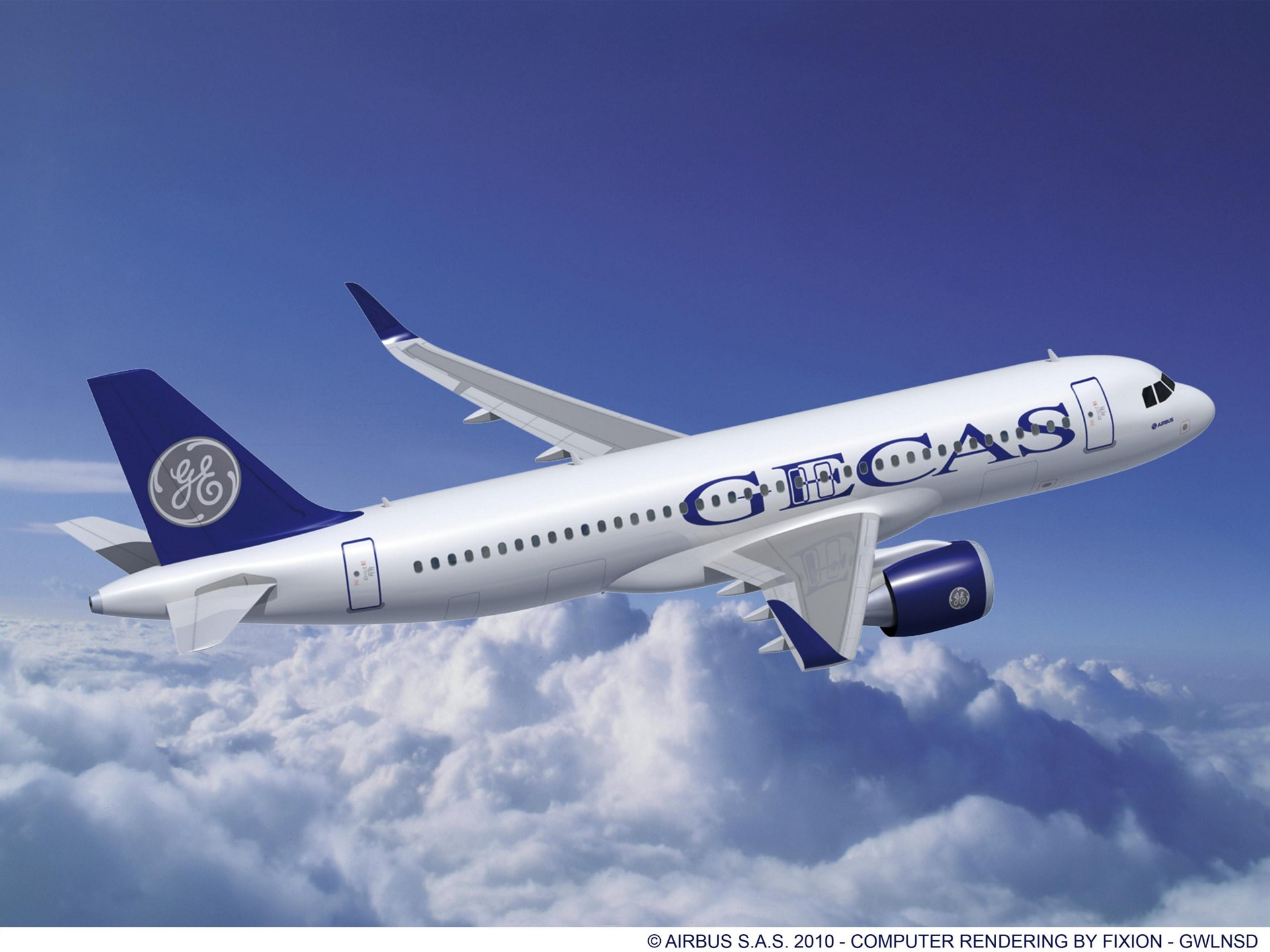 A320neo GECAS CFM engines