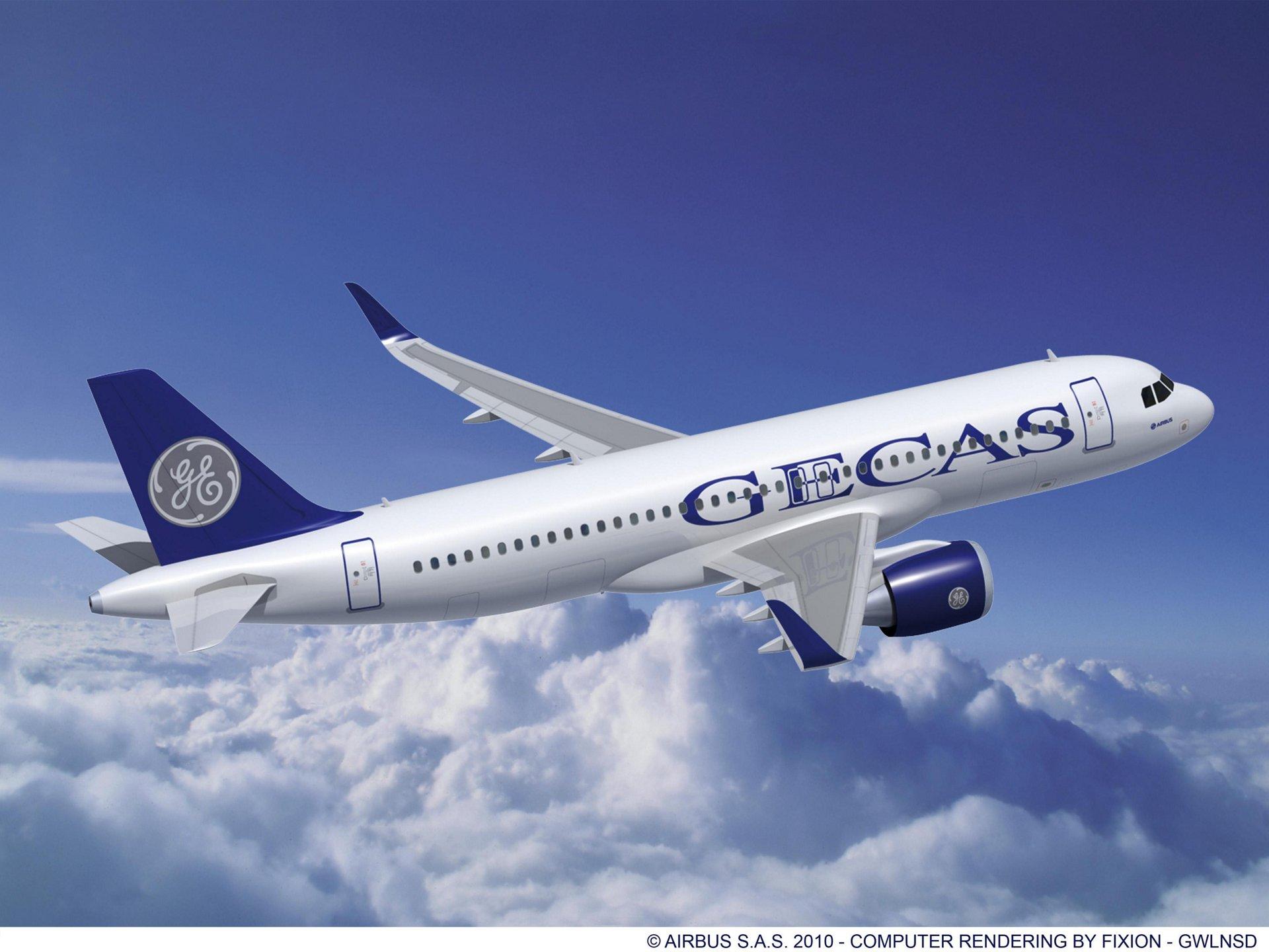 A320neo GECAS CFM engines