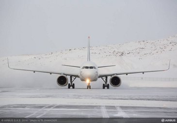 A320neo MSN6419 Cold Weather