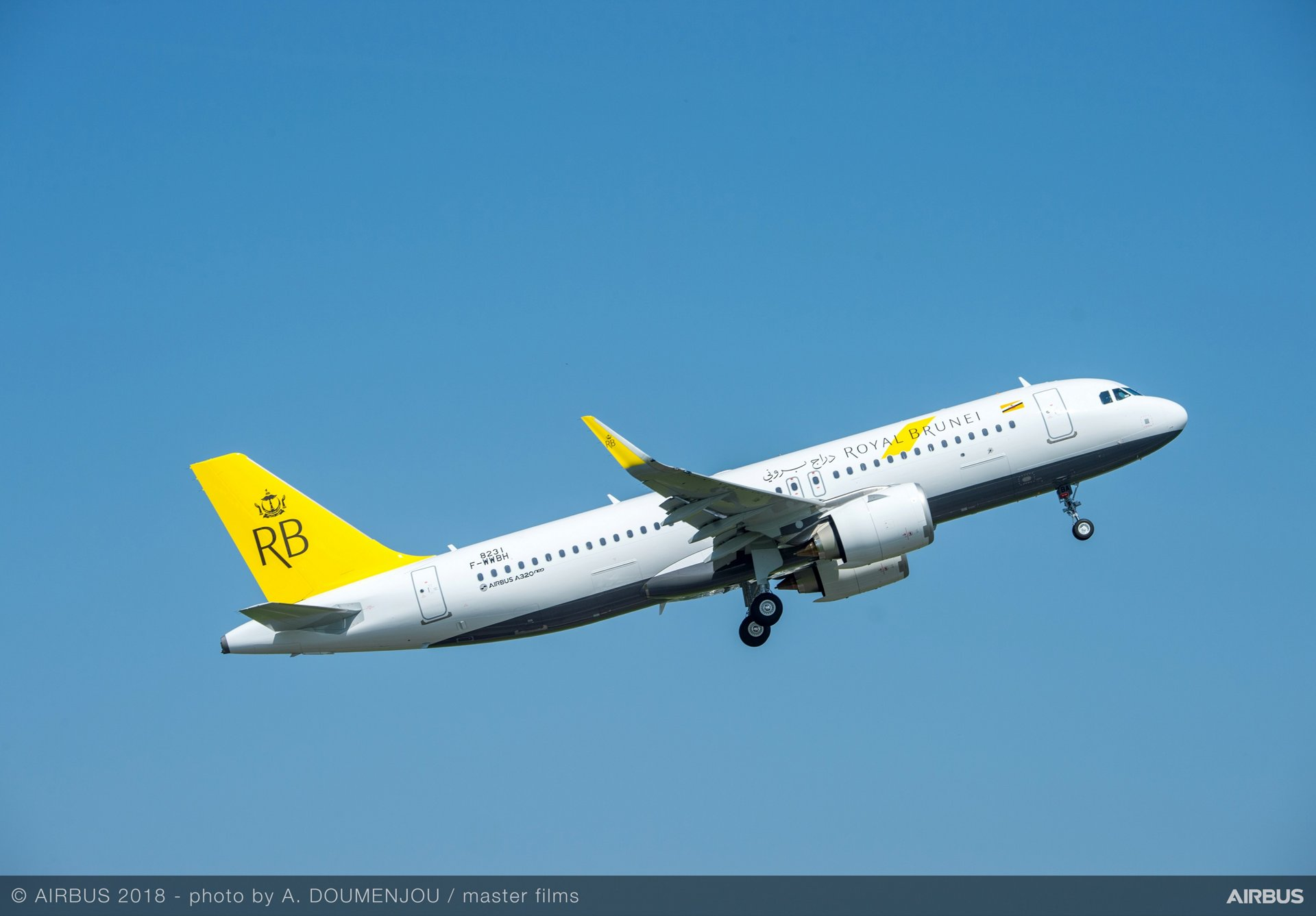 Royal Brunei Airlines is adding A320neo jetliners to a fleet of A320 Family aircraft operated by the carrier since 2003