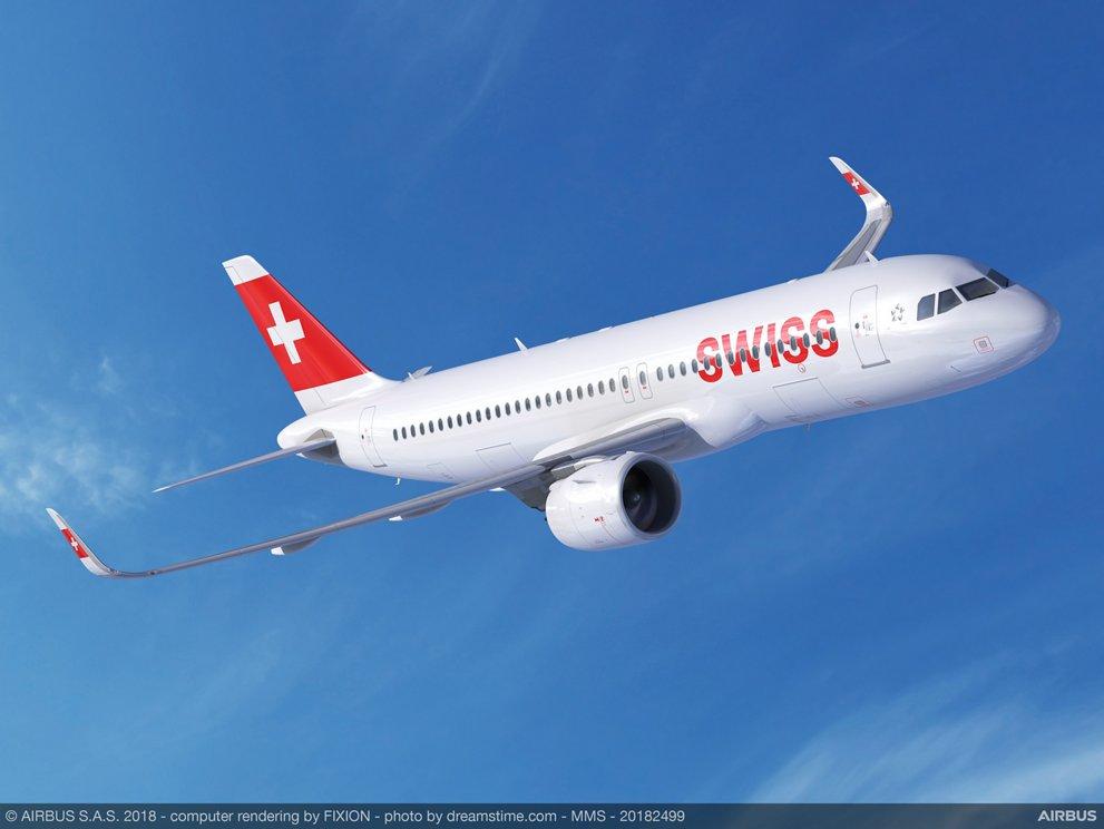 A320neo SWISS