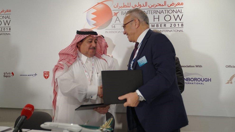 Firma de la orden de los diez Airbus A320neo adicionales para SaudiGulf.